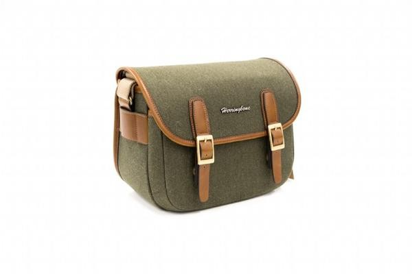 (SPECIAL DEAL) Herringbone Maniere Small Camera Bag (Olive)