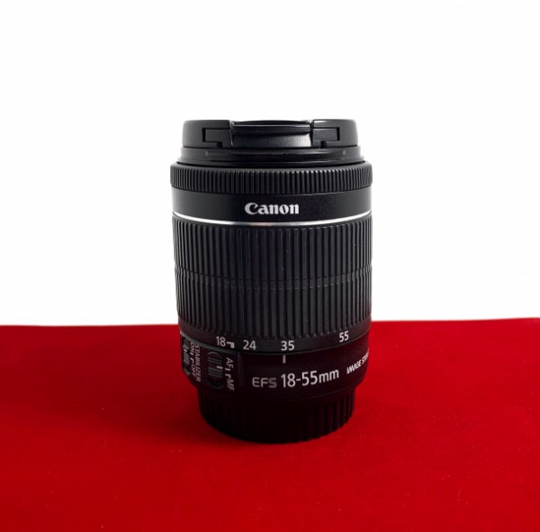 [USED-PJ33] Canon 18-55MM F3.5-5.6 IS STM EFS, 95% Like New Condition (S/N:375204007000)