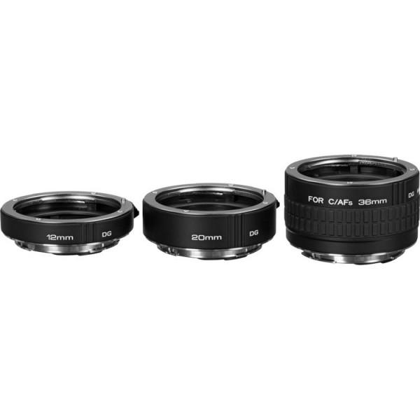(Pre-Order) Kenko Auto Extension Tube Set DG (12, 20 & 36mm Tubes) - For Canon EF