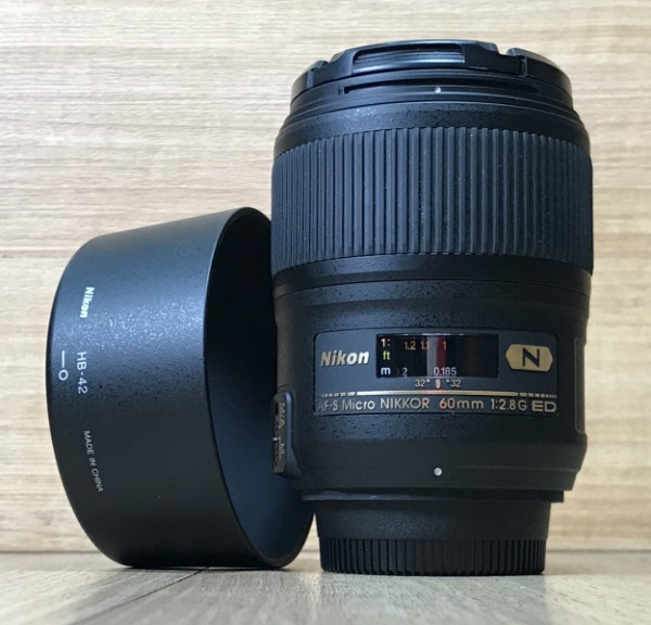 [USED @ YL LOW YAT]-Nikon AF-S Micro 60mm F2.8 G ED N Nikkor Lens,95% Condition Like New,S/N:2116698