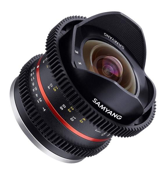 Samyang 8mm T3.1 Cine UMC Fisheye II Lens for Fujifilm X Mount