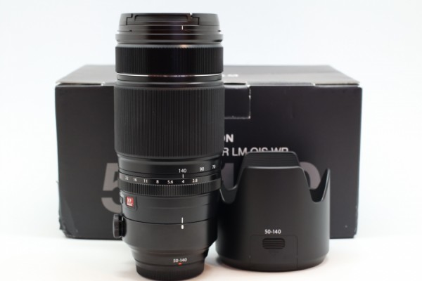 [USED-PUDU] FUJIFILM 50-140MM F2.8 R LM OIS WR LENS 98%LIKE NEW CONDITION SN:86A11189