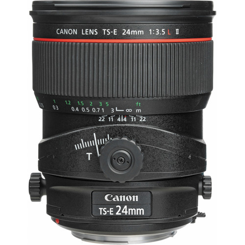 Canon TS-E 24mm F3.5 L II Tilt-Shift