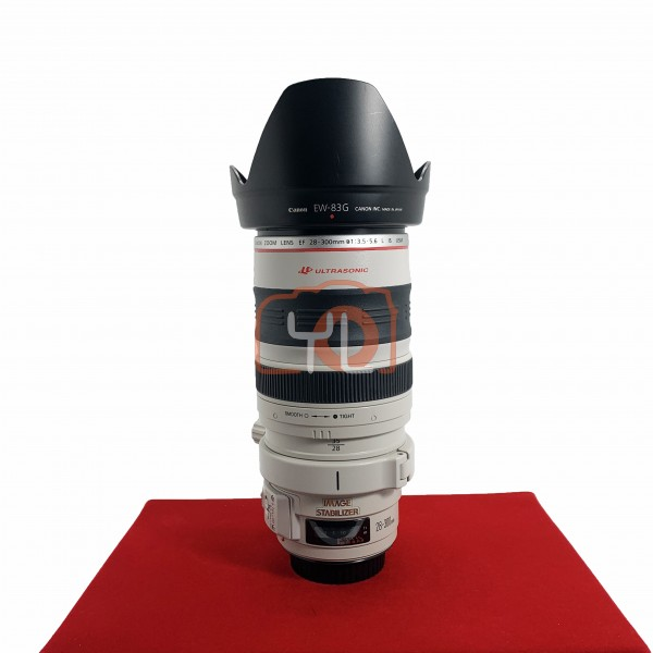 [USED-PJ33] Canon 28-300MM F3.5-5.6 L IS EF USM Lens, 95% Like New Condition (S/N:31089)