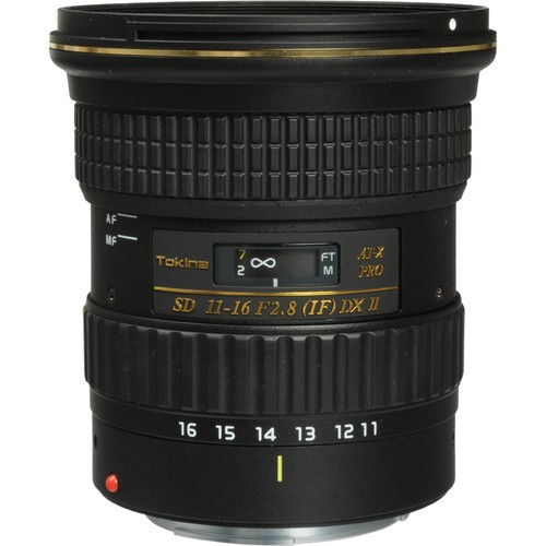 Tokina 11-16mm F2.8 AT-X PRO DX-II Lens for Canon EF
