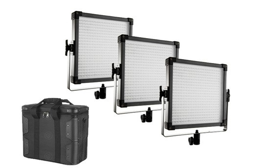 F&V K4000S LED Panel 3 Light Set