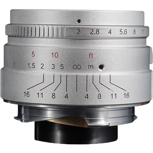 (Pre-Order) 7artisans 35mm F2  For Leica M (Silver)