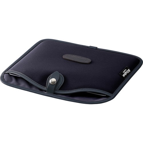 (SPECIAL DEAL) Billingham Tablet Slip (Black Canvas & Black Leather Trim)
