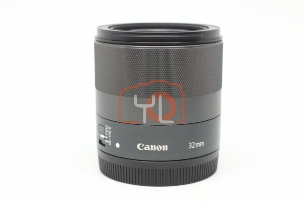 [USED-PUDU] Canon 32mm F1.4 STM EF-M 95%LIKE NEW CONDITION SN:931115100246