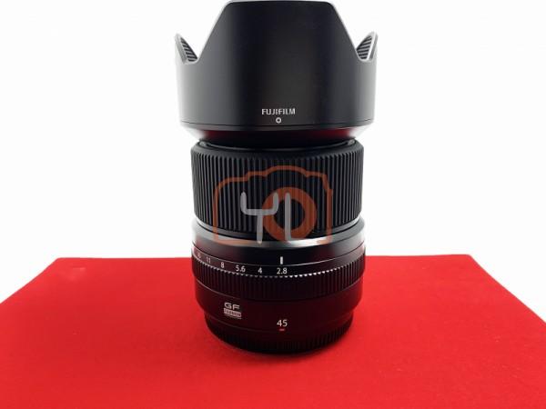 [USED-PJ33] Fujifilm GF 45mm F2.8 GF R WR 98%LIKE NEW CONDITION S/N:78A00904