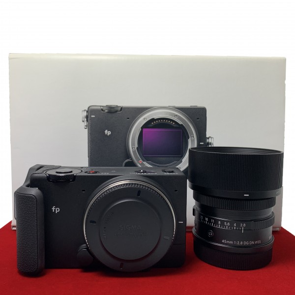 [USED-PJ33] Sigma FP With 45MM F2.8 DG DN Lens, 95% Like New Condition (S/N:91406470)