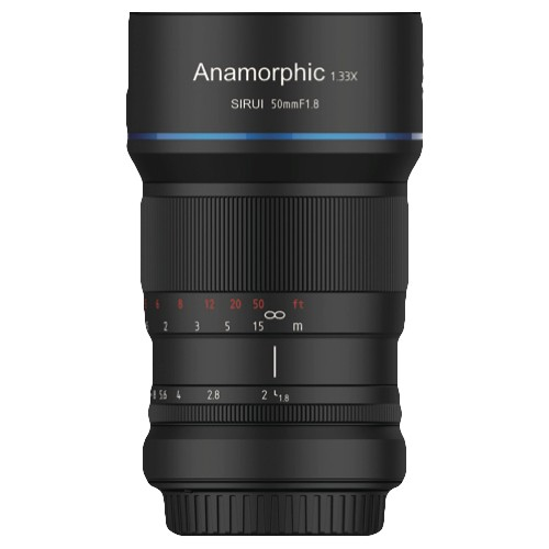 (Pre-Order) Sirui 50mm F1.8 1.33x Anamorphic (Micro Four Thirds)