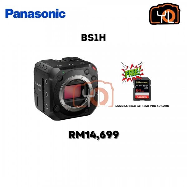 Panasonic Lumix BS1H Full-Frame Box-Style Live & Cinema Camera ( Free Sandisk 64GB extreme pro SD card )