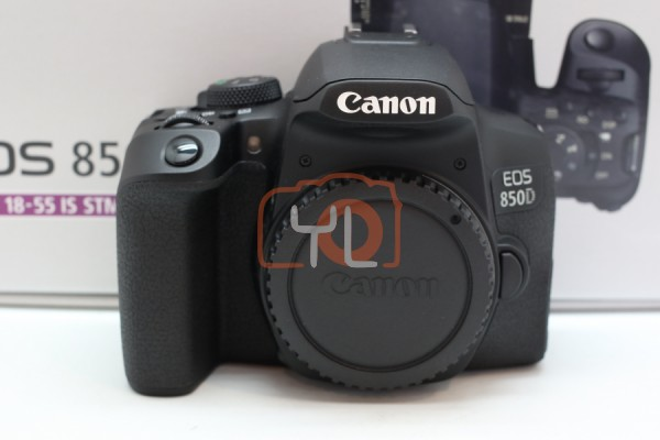 [USED-PUDU] Canon EOS 850D Camera Body 99,9%LIKE NEW CONDITION SN:048031000043