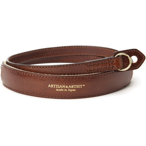 Artisan & Artist ACAM-255 Leather Camera Strap (Brown)