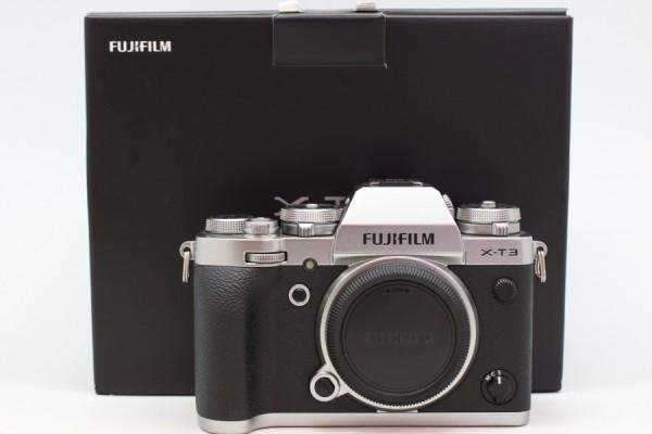 [USED-PUDU] Fujifilm X-T3 Camera Body (SILVER) 98%LIKE NEW CONDITION SN:8CQ14129