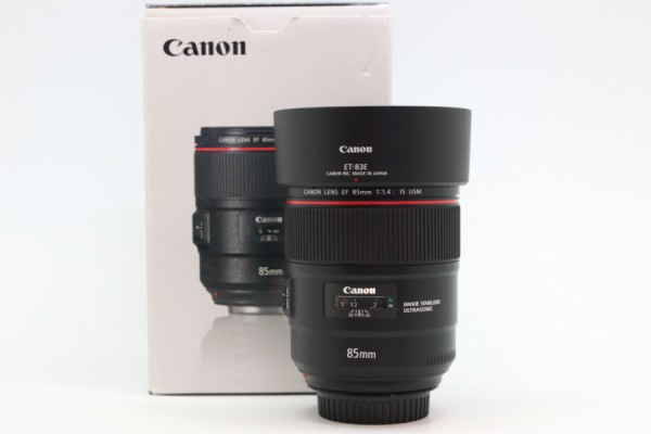 [USED-PUDU] CANON 85MM F1.4 EF L IS USM 98%LIKE NEW CONDITION SN:6700000161