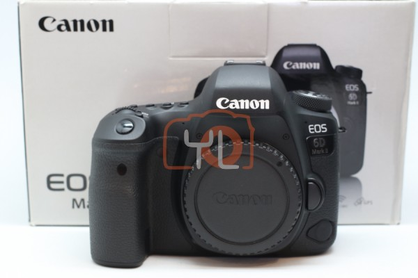 [USED-PUDU] CANON EOS 6D MARK II 95%LIKE NEW CONDITION SN:081051001252