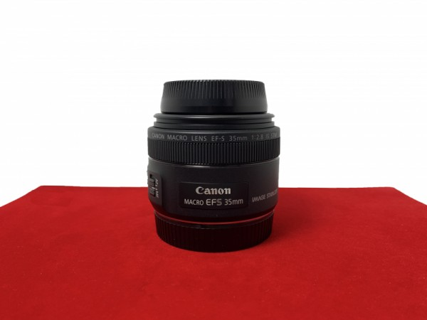 [USED-PJ33] Canon 35mm F2.8 Macro IS STM EFS, 95% Like New Condition (S/N:5401101462)