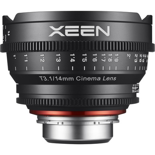 Samyang Xeen 14mm T3.1 Lens for Micro Four Thirds Mount