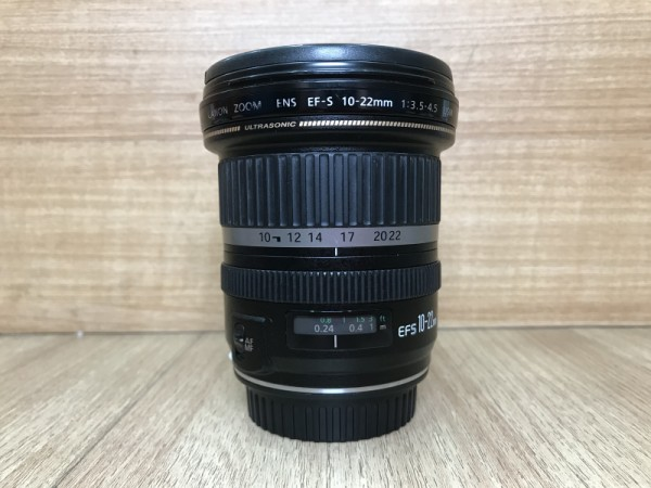 (USED YL LOW YAT)-Canon EF-S 10-22mm F3.5-4.5 USM Lens,90% Condition Like New,S/N:09104811