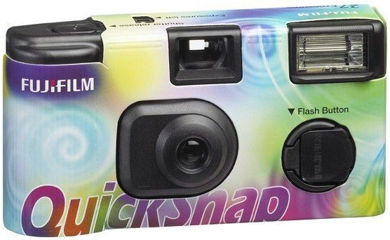 Fujifilm QuickSnap 35mm ISO400 Disposable Film Camera (27 Exposures)