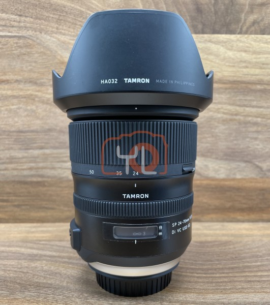 [USED @ YL LOW YAT]-Tamron SP 24-70mm F2.8 Di VC USD G2 Lens for Canon EF,95% Condition Like New,S/N:004945