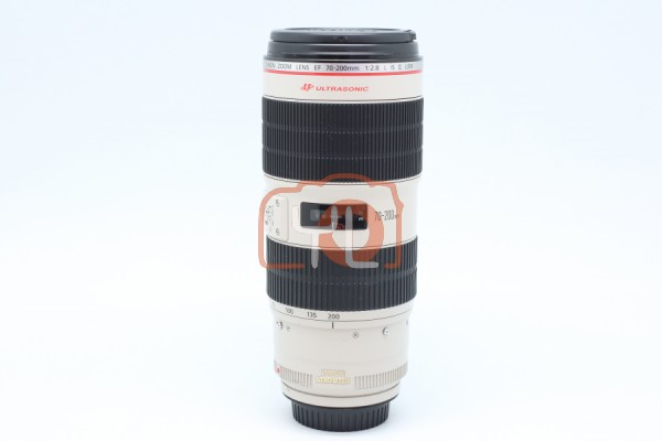 [USED-PUDU] CANON 70-200MM F2.8 L EF IS II USM 85%LIKE NEW CONDITION SN:0830800475