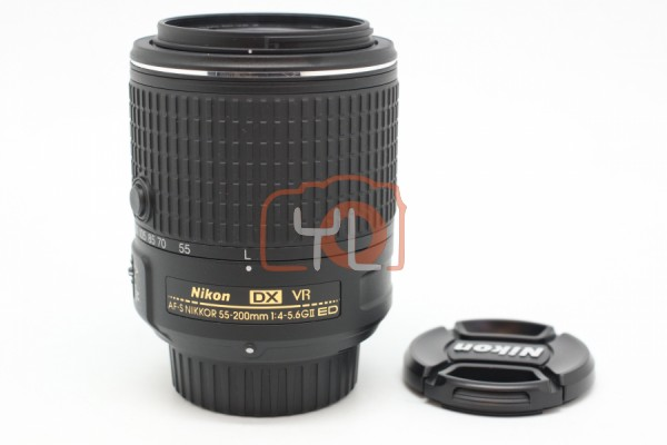 [USED-PUDU] Nikon DX 55-200mm F4-5.6G ED VR II 95%LIKE NEW CONDITION SN:20693773