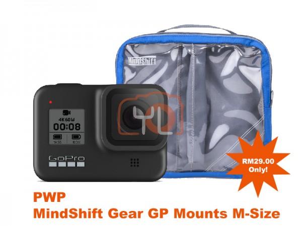 GoPro HERO8 Black (PWP MindShift Gear GP Mounts M-Size)