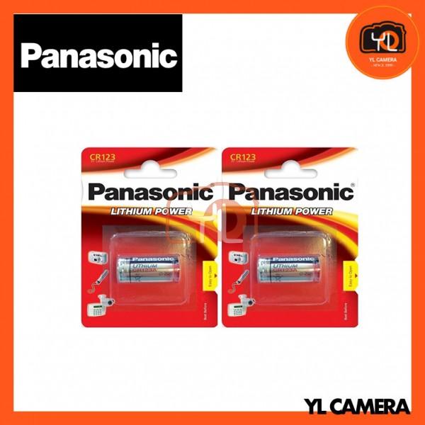 Panasonic CR123A Battery 2 Pack