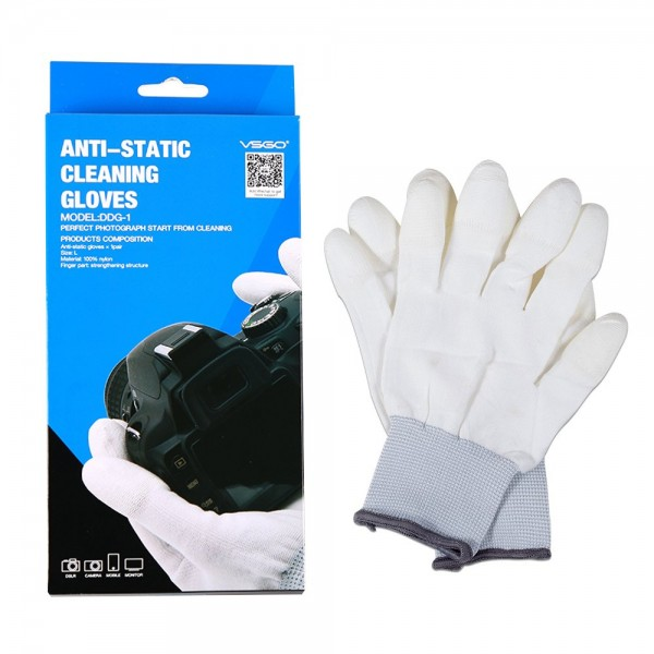 VSGO DDG-1 1 Pair Nylon Anti-Static Camera Cleaning Gloves