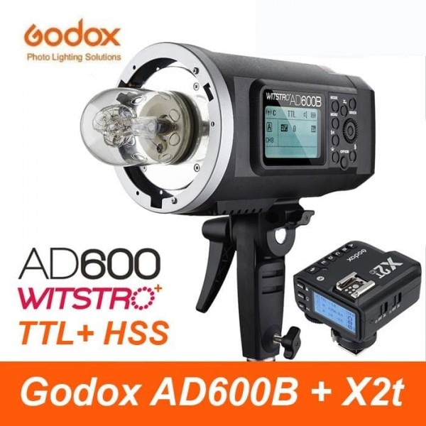 Godox AD600B TTL All-In-One Outdoor Flash X2T-N Fro Nikon Combo Set