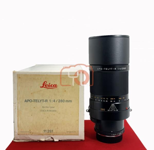 [USED-PJ33] Leica 280mm F4 APO-TELYT-R (11261), 90% Like New Condition (S/N:3658979)