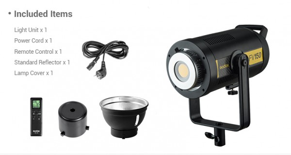 Godox FV150 Hight Speed Sync LED Flash Light