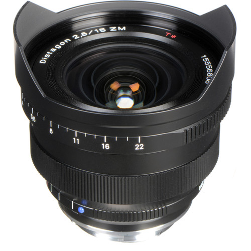 ZEISS Distagon T* 15mm F2.8 ZM Lens (Black)