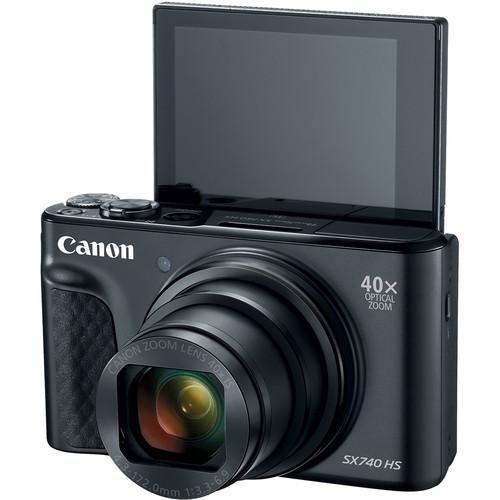 Canon Powershot SX740HS Digital Camera [Free 32GB SD Card]