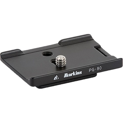 Markins PG-80 Camera Plate for Nikon D80 and D90