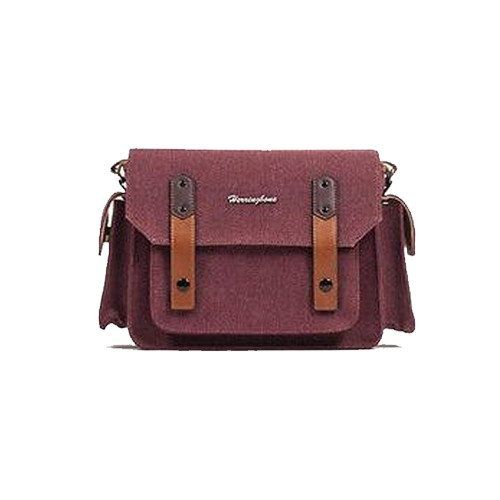 (SPECIAL DEAL) Herringbone Papas Pocket V3 Medium Camera Bag (Wine)