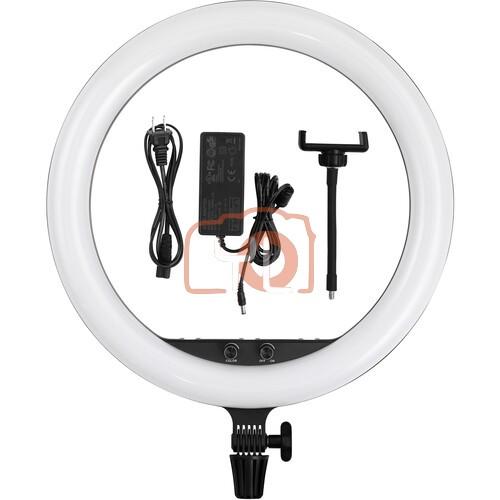 Godox LR150 Bi-Color LED Ring-Light (Black, 18