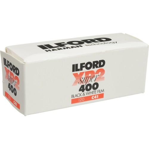 Ilford XP2 Super Black and White Negative Film (120 Roll Film)