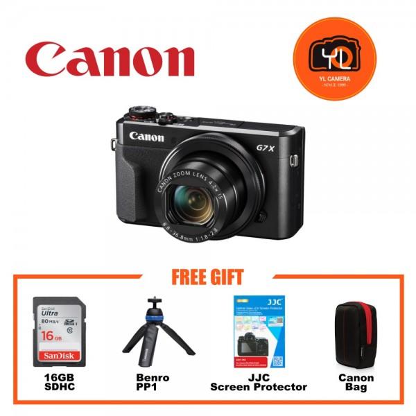 (Promotion) Canon POWERSHOT G7X Mark II [Free 16GB SD Card]