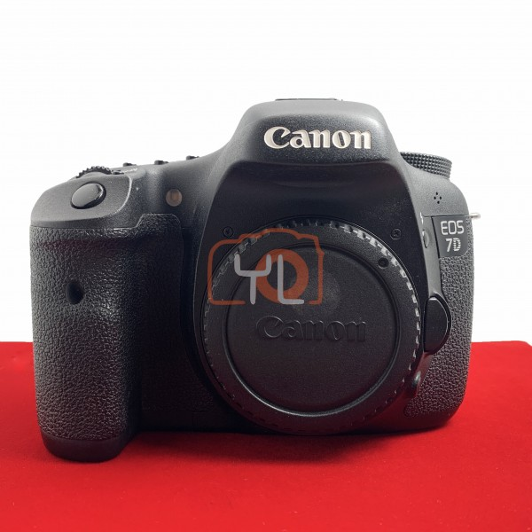 [USED-PJ33] Canon Eos 7D Body (SC:76K), 85% Like New Condition (S/N:2681231085)