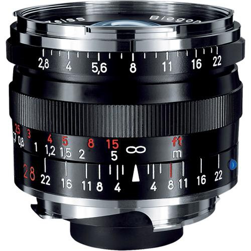 ZEISS Biogon T* 28mm F2.8 ZM Lens (Black)