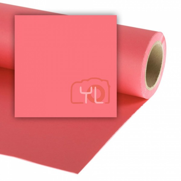 Colorama Paper Background 2,72 x 11m Coral Pink