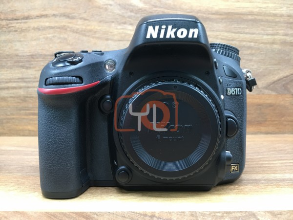 [USED @ YL LOW YAT]-Nikon D610 Camera Body [ shutter count 28482 ],95% Condition Like New,S/N:8000471