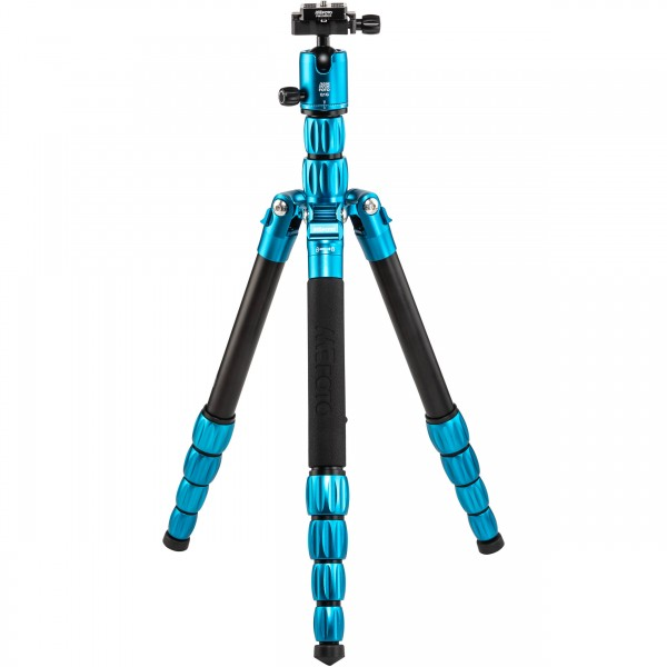 (SPECIAL DEAL) Mefoto RoadTrip S Travel Tripod (Aluminum, Blue)