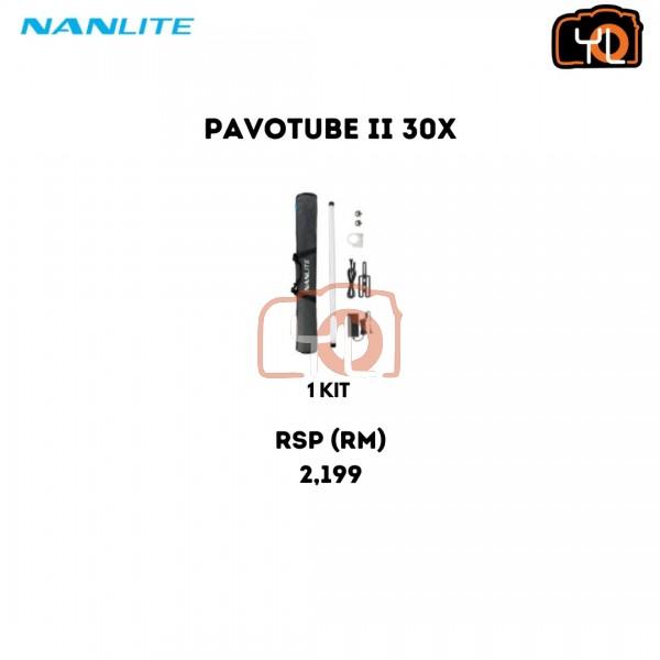 Nanlite PavoTube II 30X RGBWW LED Pixel Tube with Internal Battery (4')
