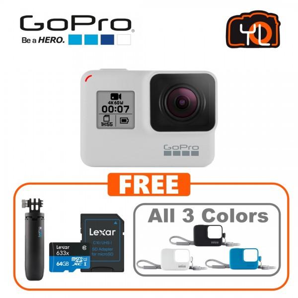 (Promotion) GoPro HERO7 Black (Limited Edition Dusk White)PROMO SET