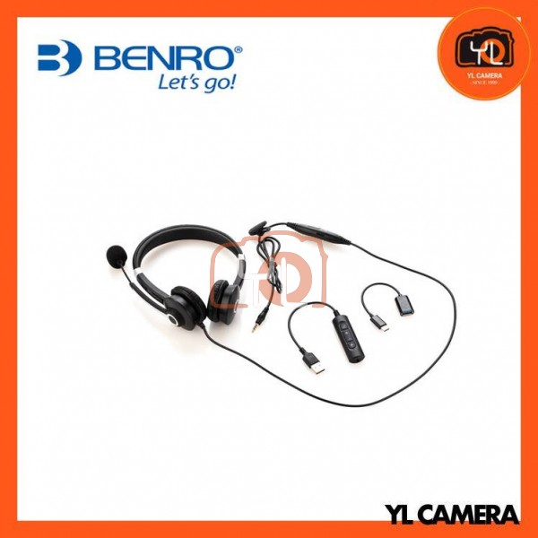 Benro MeVIDEO MWH-1 Wired On-Ear Stereo Headset